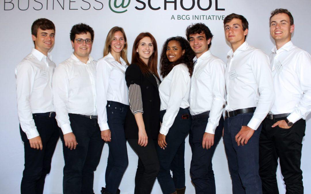 L'ISTITUTO MASSIMO A VIENNA PER LE FINALI INTERNAZIONALI DI BUSINESS@SCHOOL