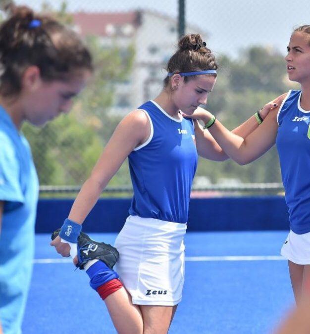 L'ex alunna Ilaria Sarnari nella Nazionale di Hockey su prato U21.