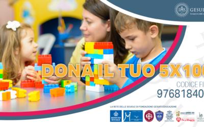 IL PRIMO 5X1000 DELLA FONDAZIONE GESUITI EDUCAZIONE PER NUOVE BORSE DI STUDIO
