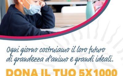 Campagna 5Xmille a favore delle scuole della Rete ignaziana